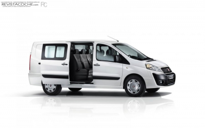 Blaurent - Fiat Scudo or similar (9 seater)